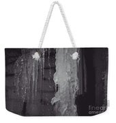 Winter Memories-ice Weekender Tote Bag