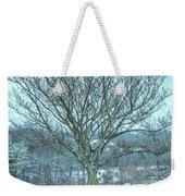 Winter Mimosa Painterly Weekender Tote Bag