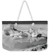 Winter Mini Landscape On A Lake Weekender Tote Bag