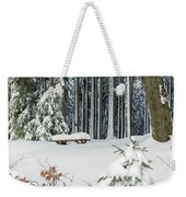 Winter Moments In Harz Mountains Weekender Tote Bag