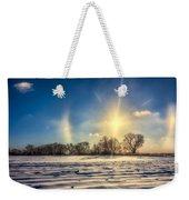 Winter Morn In Minnesota Weekender Tote Bag