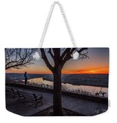 Winter Morning Breath Weekender Tote Bag