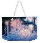 Winter Morning Light Weekender Tote Bag