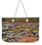 Winter Morning On Marble Creek 1 Weekender Tote Bag