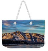 Winter Morning South Lake Tahoe Weekender Tote Bag