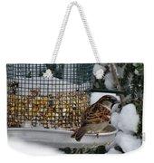 Winter Mornings Weekender Tote Bag