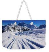 Winter Mount Shuksan Weekender Tote Bag