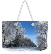 Winter On 210th St. Weekender Tote Bag
