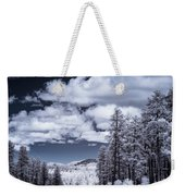 Winter On 89a Weekender Tote Bag