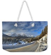Morant's Curve On The Bow Valley Parkway Weekender Tote Bag