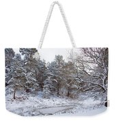 Winter On The Chase Weekender Tote Bag
