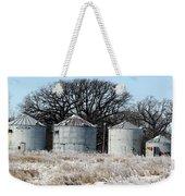 Winter On The Prairie Number 1 Weekender Tote Bag