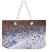 Winter On The Prairie Weekender Tote Bag