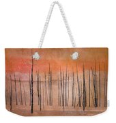 Winter Orange  7913orange Weekender Tote Bag