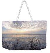 Winter Pastels Weekender Tote Bag