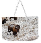 Winter Pasture Weekender Tote Bag