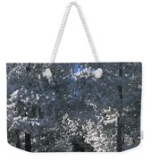 Winter Pathway Weekender Tote Bag
