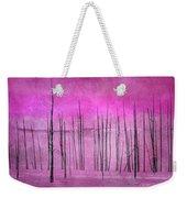 Winter Pink  7913pink Weekender Tote Bag