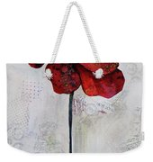 Winter Poppy II Weekender Tote Bag
