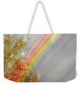 Winter Rainbow  Weekender Tote Bag