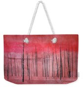 Winter Red  7913red Weekender Tote Bag