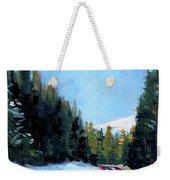 Winter Road Trip Weekender Tote Bag