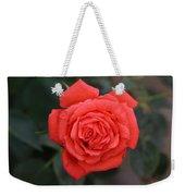 Winter Rose Weekender Tote Bag
