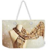 Winter Scarf Weekender Tote Bag