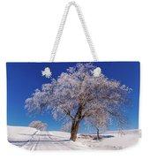 Winter Scene Genessee, Id Weekender Tote Bag