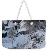 Winter Scene In North Wales Weekender Tote Bag