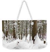 Winter Scene Print Weekender Tote Bag