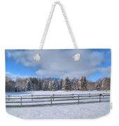 Winter Scenery 14589 Weekender Tote Bag