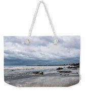 Winter Seascape 2 - Lyme Regis Weekender Tote Bag