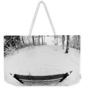 Winter Seat 1 Weekender Tote Bag