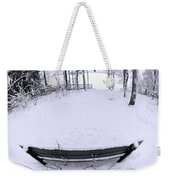 Winter Seat 2 Weekender Tote Bag