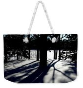 Winter Shadows 2 Weekender Tote Bag