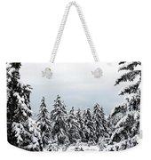 Winter Shangri-la Weekender Tote Bag