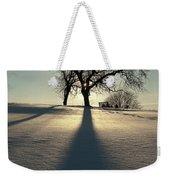 Winter Silhouette Weekender Tote Bag