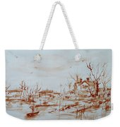 Winter Sketch 1 Weekender Tote Bag