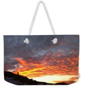 Winter Sky Weekender Tote Bag