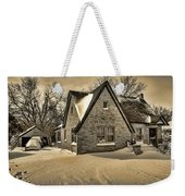 Winter Snow II Weekender Tote Bag