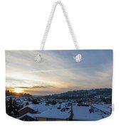 Winter Snow In Happy Valley Oregon Weekender Tote Bag