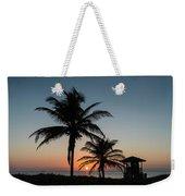 Winter Solstice Sunrise Delray Beach Florida Weekender Tote Bag