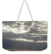 Winter Sun At Sea Weekender Tote Bag