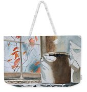Winter Sun Weekender Tote Bag
