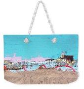 The Beach In Winter  Weekender Tote Bag