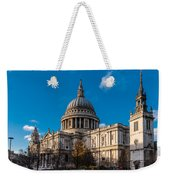 Winter Sun St Paul's Cathedral Weekender Tote Bag