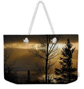 Winter Sunrise 1 Weekender Tote Bag