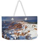 Winter Sunrise Bryce Canyon National Park Utah Weekender Tote Bag