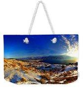 Winter Sunrise On Skaha Weekender Tote Bag
